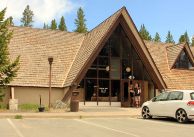 Canyon Camper Services Building