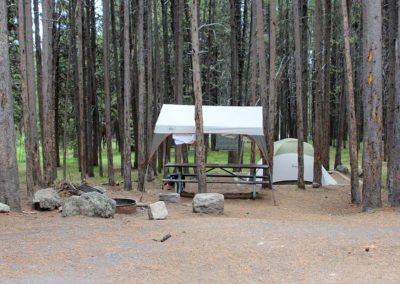 Canyon Campground Tent Site