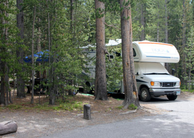 Canyon Campground RV Site