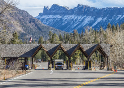 East Entrance to Yellowstone
