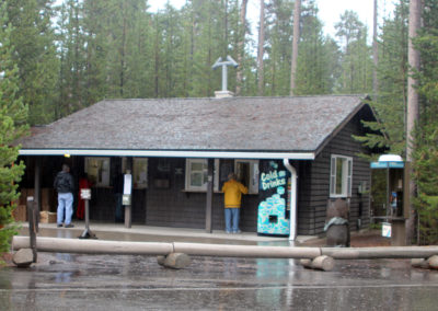 Grant Village Campground Front Office