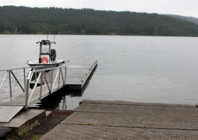 Lewis Lake Boat Launch
