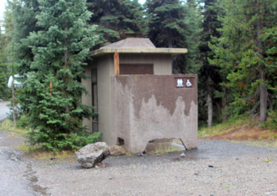 Lewis Lake Campground Bathrooms