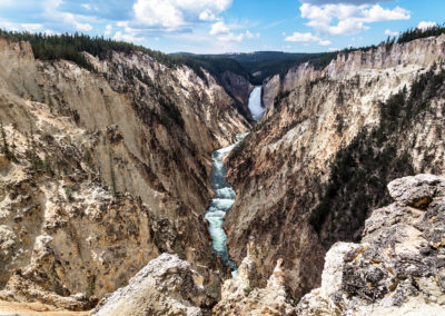 Grand Canyon of the Yellowstone from Artist Point