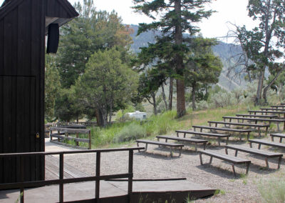 Mammoth Campground Amphitheater