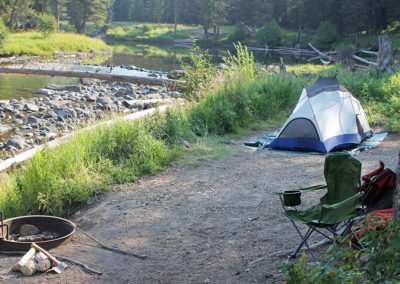 Slough Creek Campground Tent Site