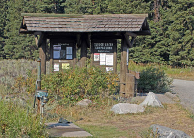 Self Registration at Slough Creek Campground