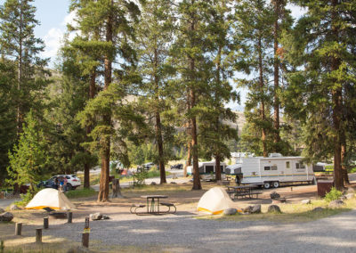 Tower Fall Campground